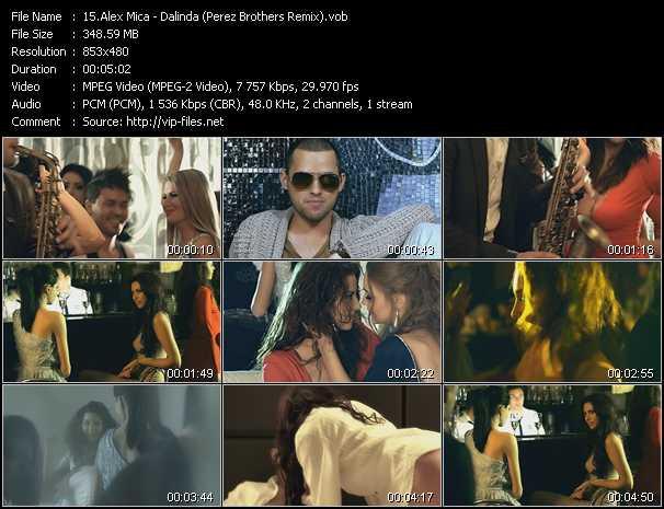 Alex Mica - Dalinda (Perez Brothers Remix)