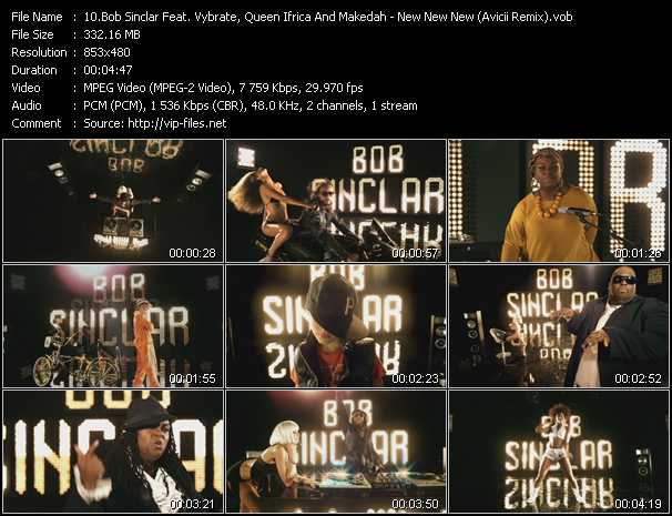 Bob Sinclar Feat. Vybrate, Queen Ifrica And Makedah - New New New (Avicii Remix)