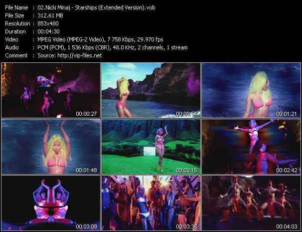 Nicki Minaj - Starships (Extended Version)