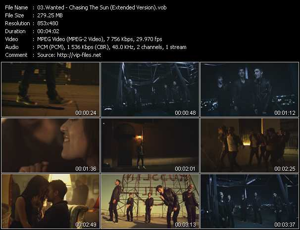 Wanted - Chasing The Sun (Extended Version)