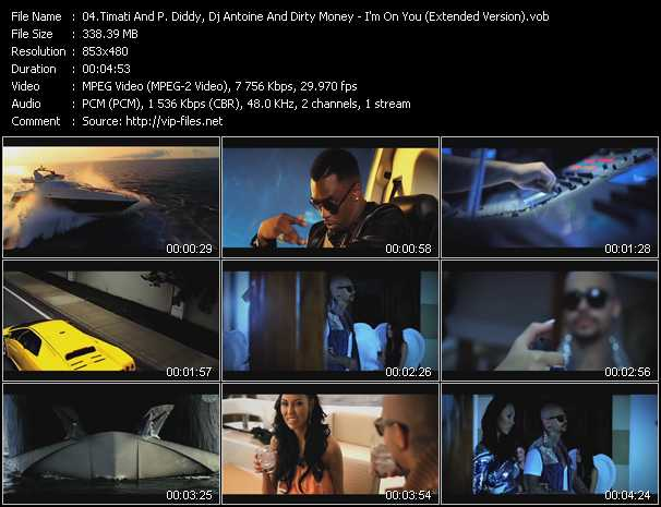 Timati And P. Diddy (Puff Daddy), Dj Antoine And Diddy - Dirty Money - I'm On You (Extended Version)