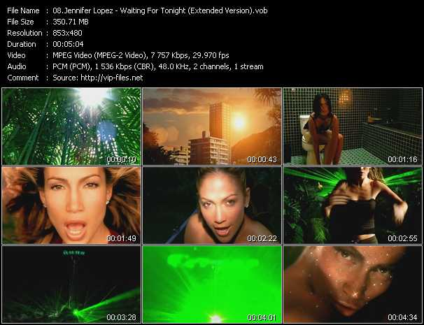 Jennifer Lopez - Waiting For Tonight (Extended Version)