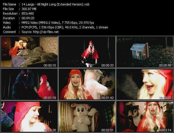 Lasgo - All Night Long (Extended Version)