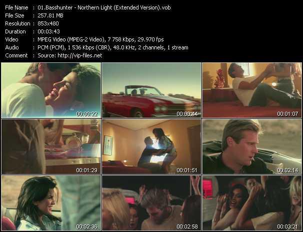 Basshunter - Northern Light (Extended Version)