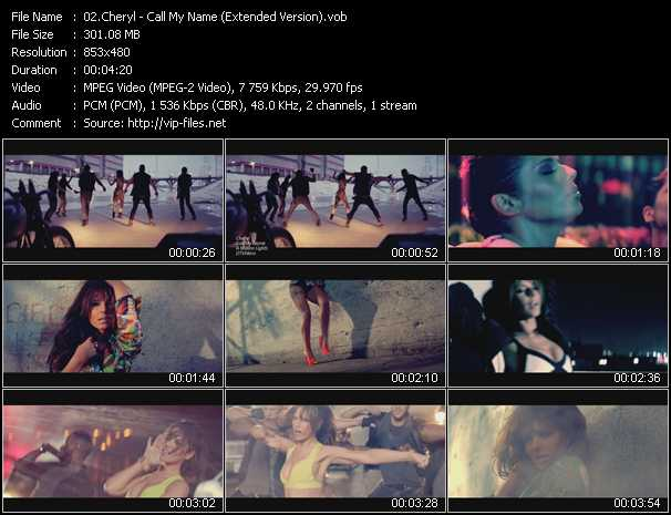 Cheryl Cole - Call My Name (Extended Version)