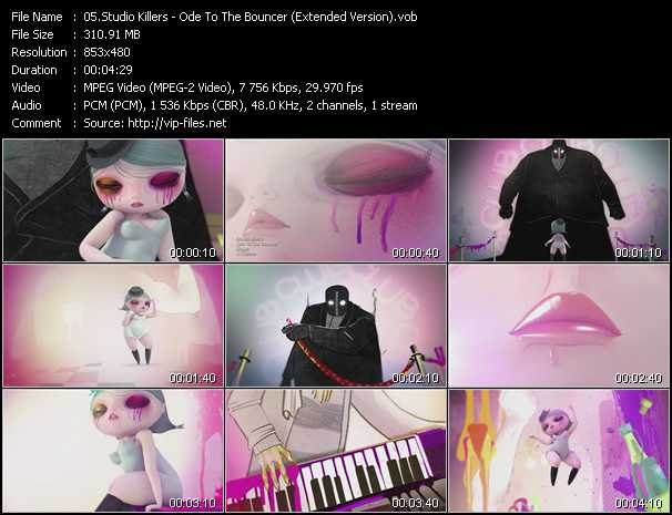 Studio Killers - Ode To The Bouncer (Extended Version)