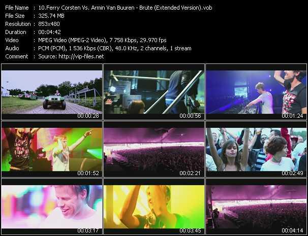 Ferry Corsten Vs. Armin Van Buuren - Brute (Extended Version)