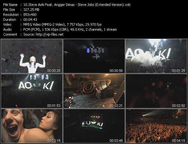 Steve Aoki Feat. Angger Dimas - Steve Jobs (Extended Version)