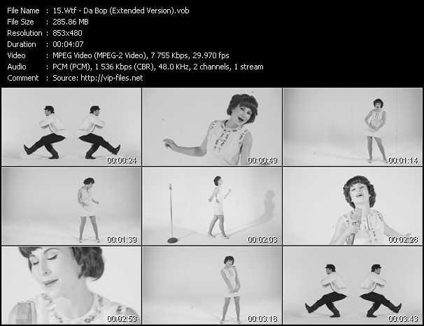 Wtf! - Da Bop (Extended Version)