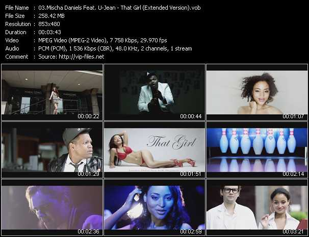 Mischa Daniels Feat. U-Jean - That Girl (Extended Version)
