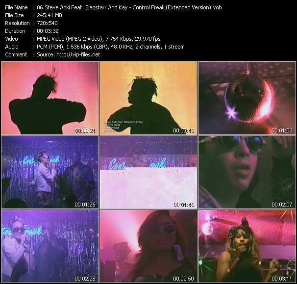 Steve Aoki Feat. Blaqstarr And Kay - Control Freak (Extended Version)