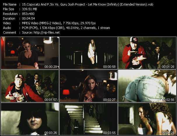 Copycatz Present P. Six Vs. Guru Josh Project - Let Me Know (Infinity) (Extended Version)