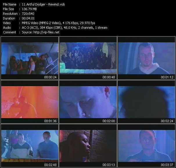 Artful Dodger - Rewind