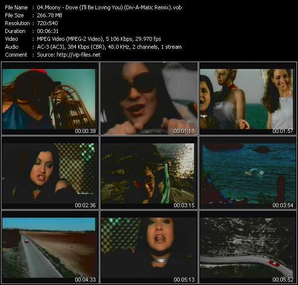 Moony - Dove (I'll Be Loving You) (Div-A-Matic Remix)
