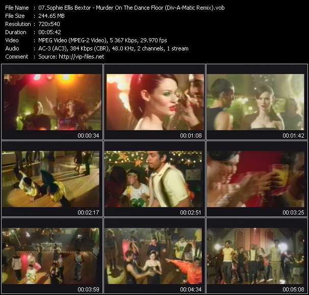 Sophie Ellis-Bextor - Murder On The Dance Floor (Div-A-Matic Remix)
