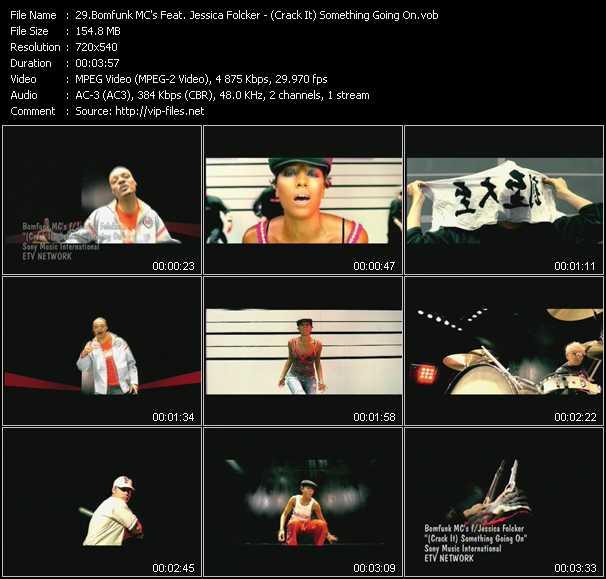 Bomfunk MC's Feat. Jessica Folker - (Crack It) Something Going On