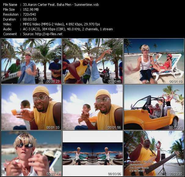 Aaron Carter Feat. Baha Men - Summertime