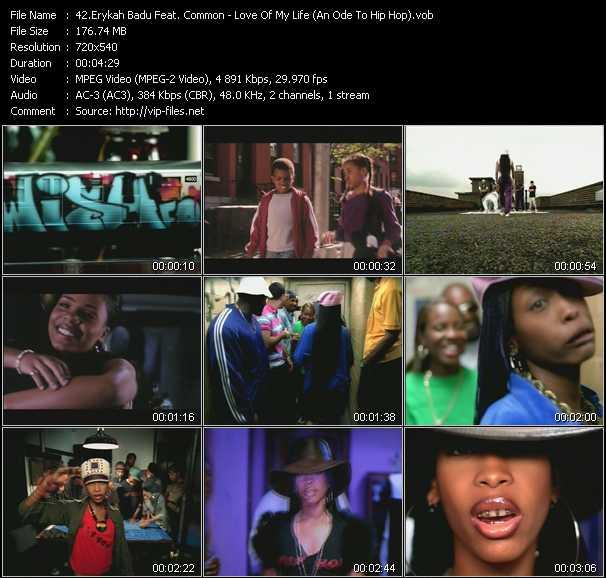 Erykah Badu Feat. Common - Love Of My Life (An Ode To Hip Hop)