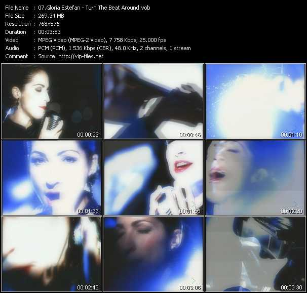 Gloria Estefan - Turn The Beat Around