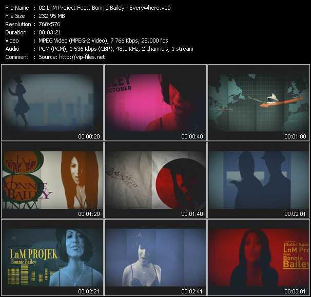 LnM Projekt Feat. Bonnie Bailey - Everywhere