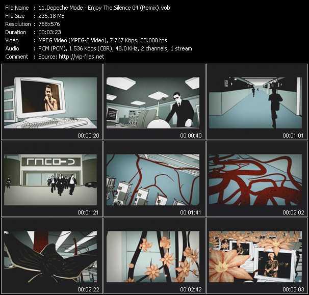 Depeche Mode - Enjoy The Silence 04 (Remix)