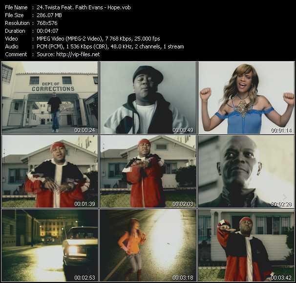 Twista Feat. Faith Evans - Hope