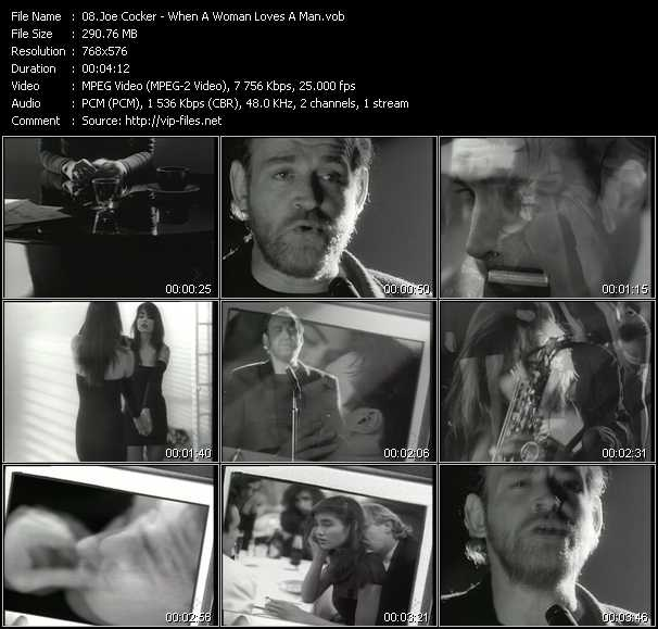 Joe Cocker - When A Woman Loves A Man