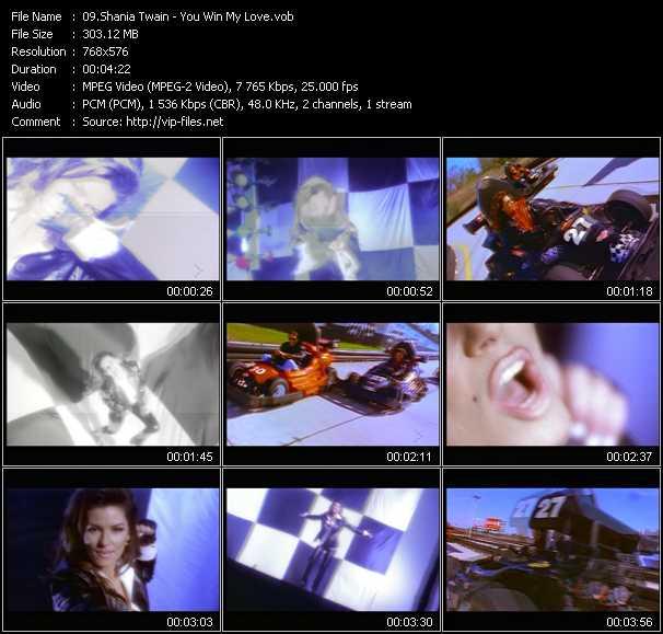 Shania Twain - You Win My Love