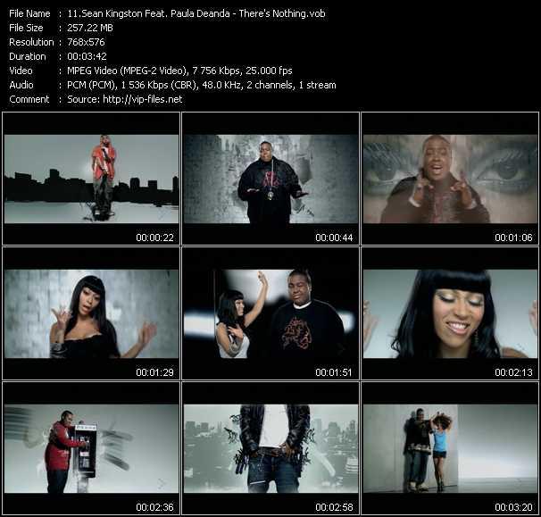 Sean Kingston Feat. Paula Deanda - There's Nothing