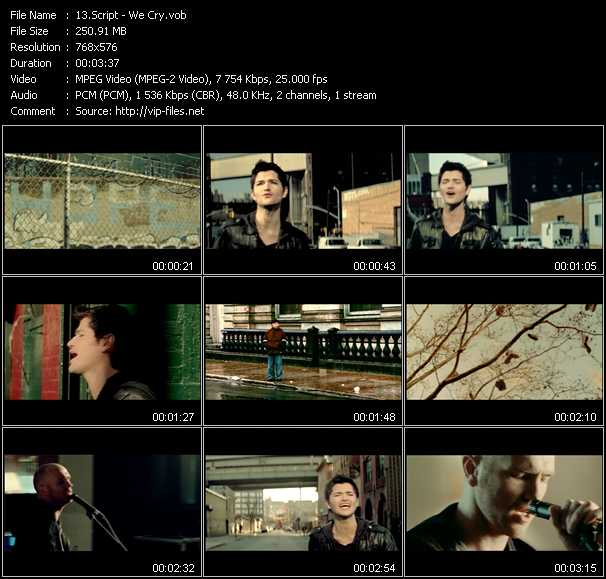 Script - We Cry