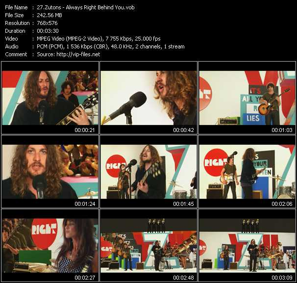 Zutons - Always Right Behind You