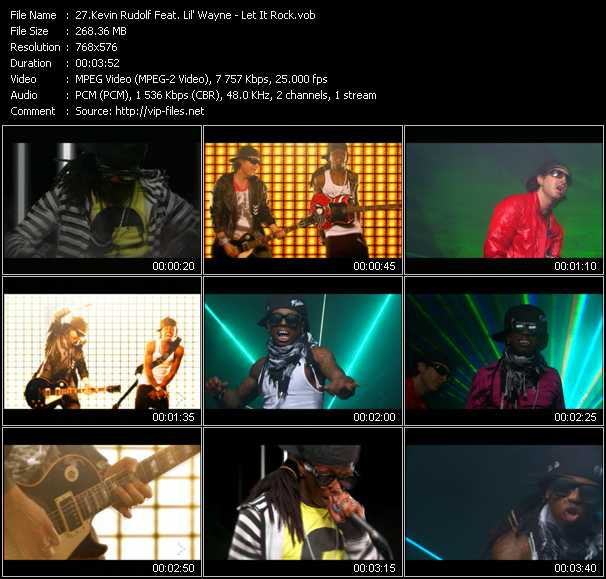 Kevin Rudolf Feat. Lil' Wayne - Let It Rock