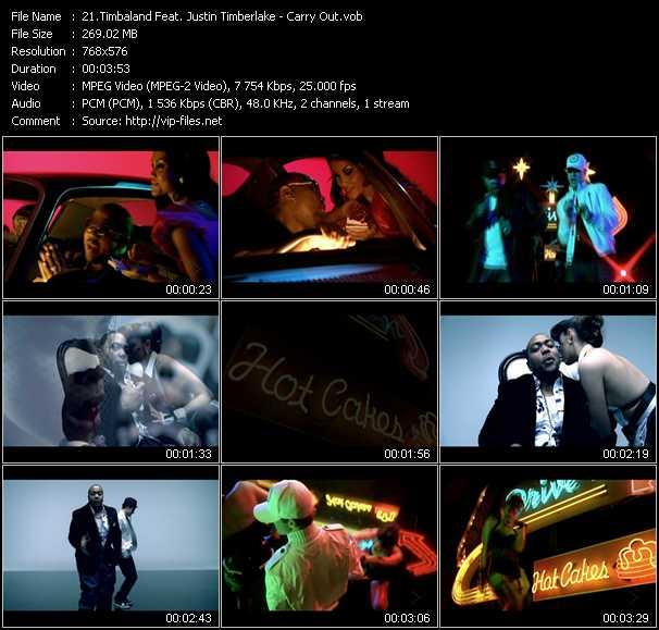 Timbaland Feat. Justin Timberlake - Carry Out