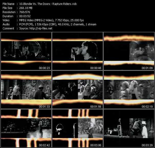 Blondie Vs. The Doors - Rapture Riders