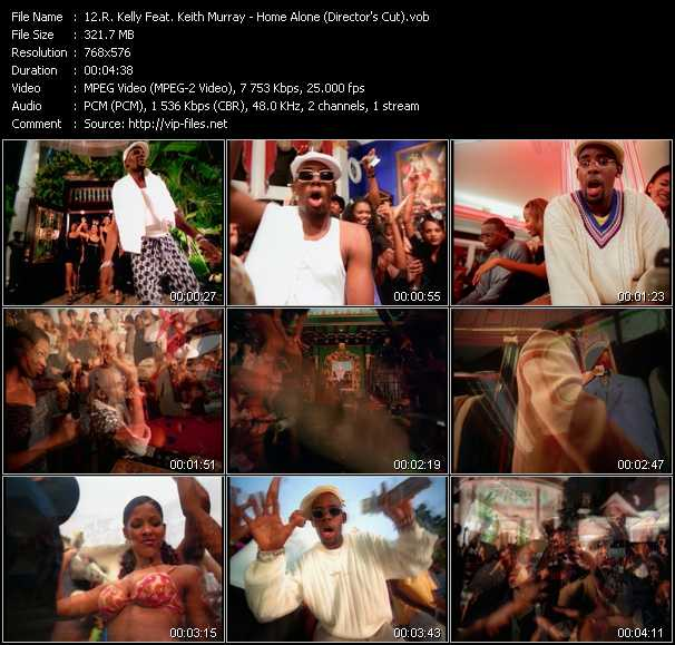 R. Kelly Feat. Keith Murray - Home Alone (Director's Cut)
