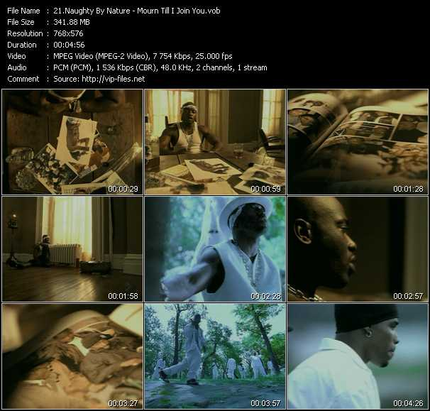 Naughty By Nature - Mourn Till I Join You