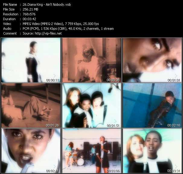 Diana King - Ain't Nobody