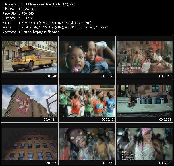 Lil' Mama - G-Slide (TOUR BUS)