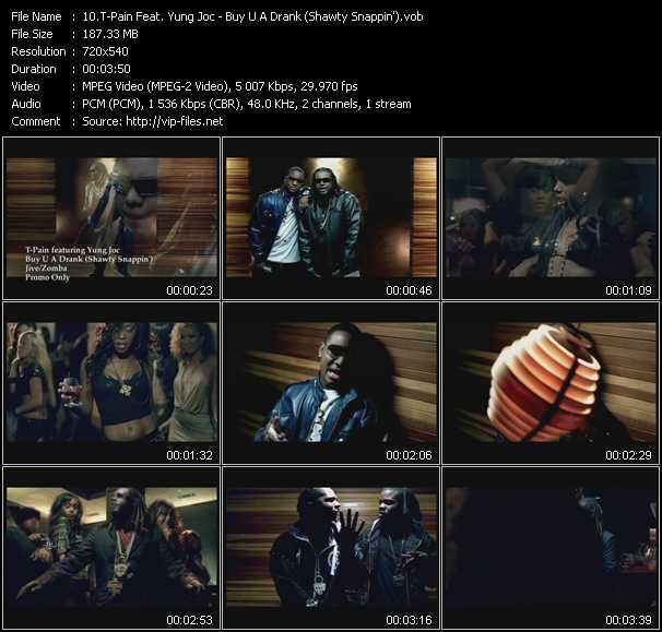 T-Pain Feat. Yung Joc - Buy U A Drank (Shawty Snappin')