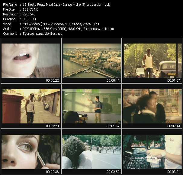 Tiesto Feat. Maxi Jazz - Dance 4 Life (Short Version)