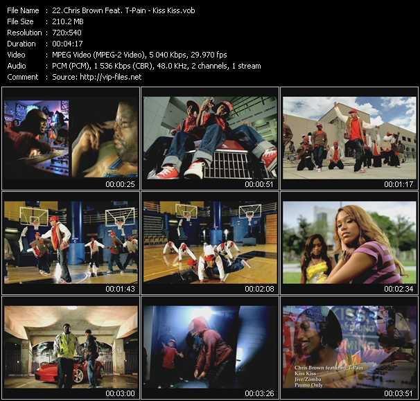 Chris Brown Feat. T-Pain - Kiss Kiss