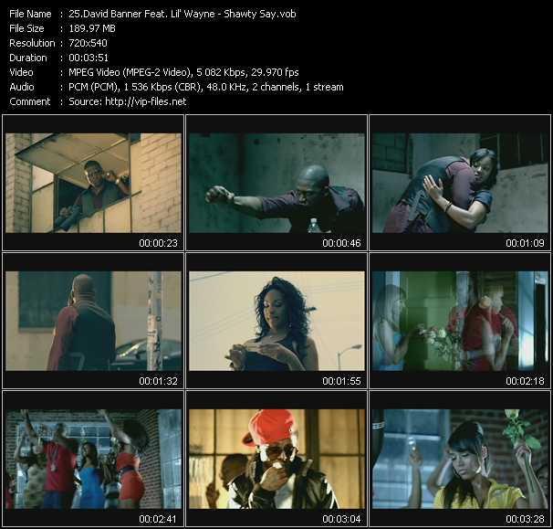 David Banner Feat. Lil' Wayne - Shawty Say