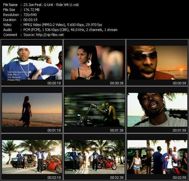 Joe Feat. G-Unit - Ride Wit U