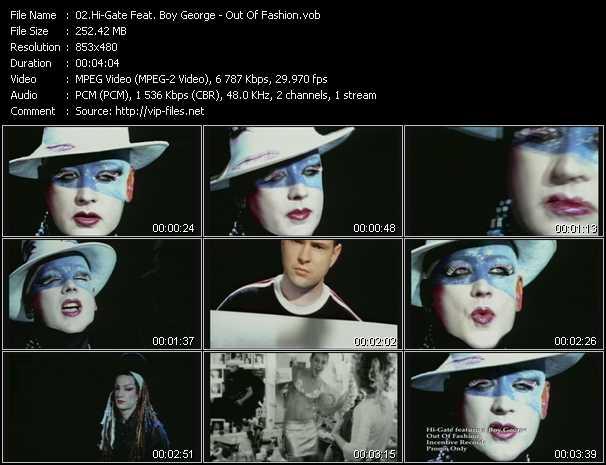 Hi-Gate Feat. Boy George - Out Of Fashion