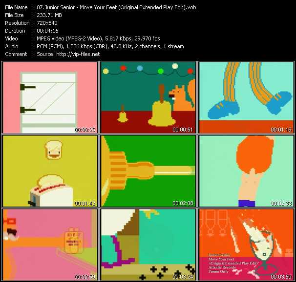Junior Senior - Move Your Feet (Original Extended Play Edit)