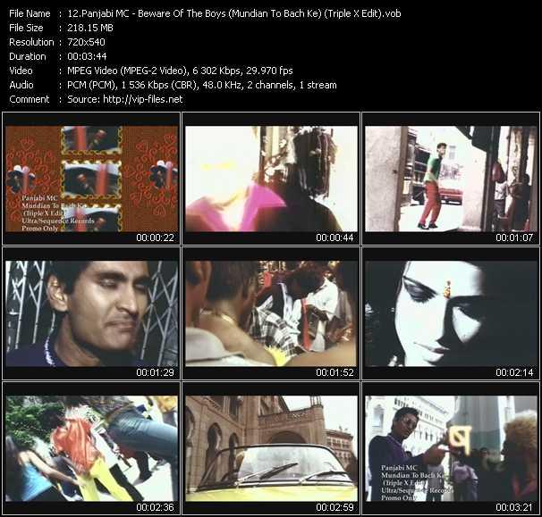 Panjabi MC - Beware Of The Boys (Mundian To Bach Ke) (Triple X Edit)