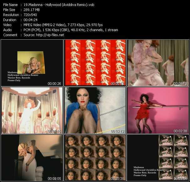 Madonna - Hollywood (Aviddiva Remix)