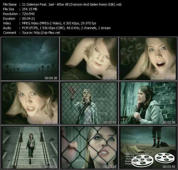 Delerium Feat. Jael - After All (Svenson And Gielen Remix Edit)