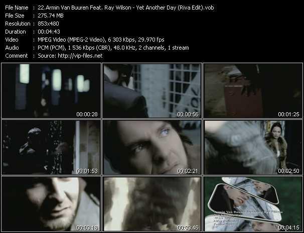 Armin Van Buuren Feat. Ray Wilson - Yet Another Day (Riva Edit)