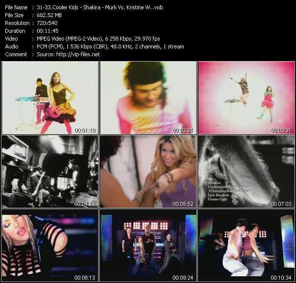 Cooler Kids - Shakira - Murk Vs. Kristine W - All Around The World (Punk Debutante) (Hex Hector Club Edit) - Underneath Your Clothes (Thunderpuss Club Edit) - Some Lovin' (Peter Rauhofer Reconstruction Mix)